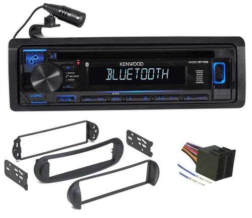 small resolution of kenwood cd radio receiver w bluetooth iphone for 99 10 volkswagen vw beetle walmart com