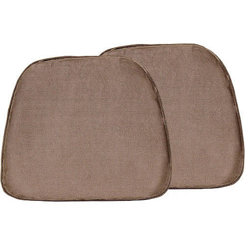 chair pad foam ghost doeskin 17 x15 set of 2 walmart com