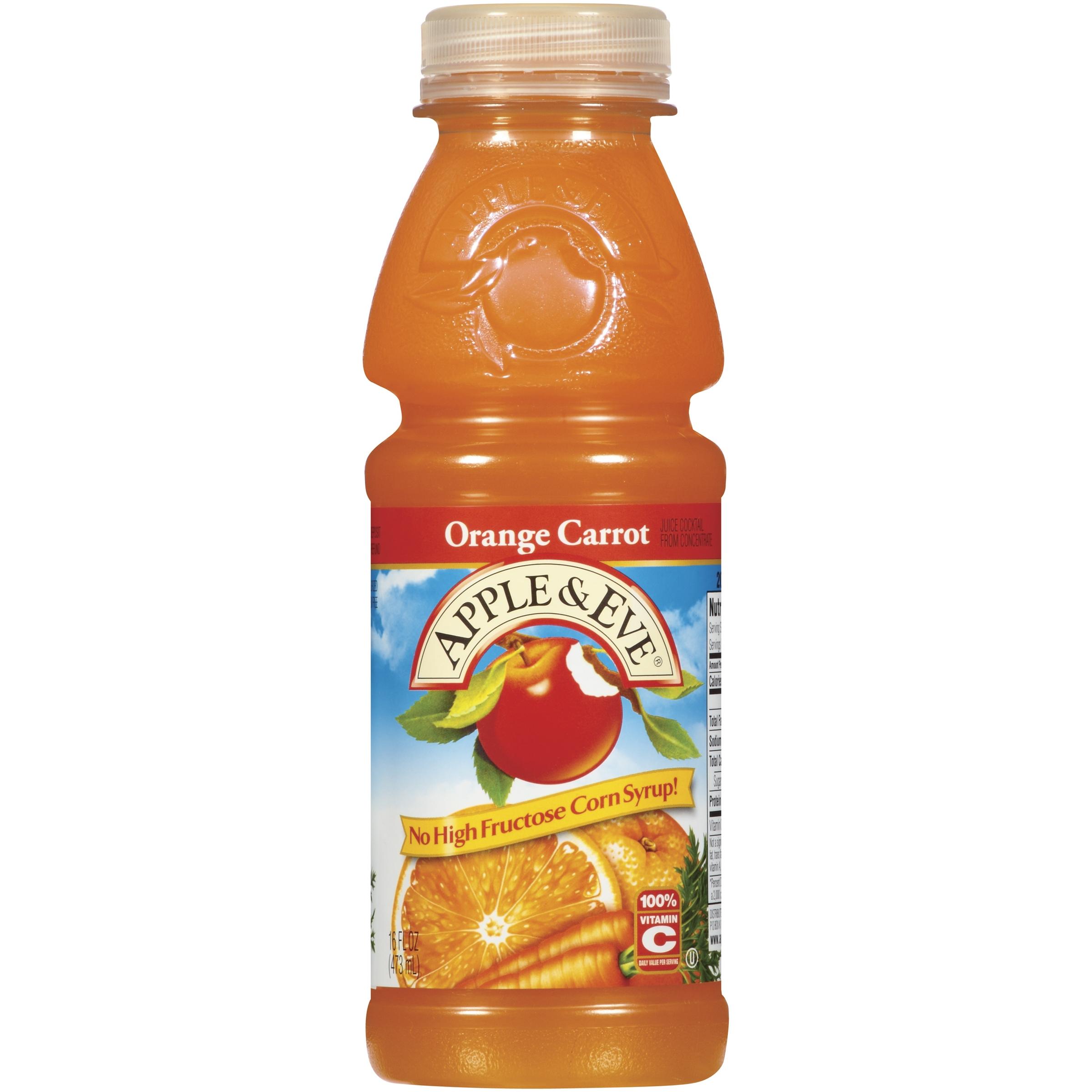 Apple Eve Orange Carrot Juice Cocktail 16 Fl Oz