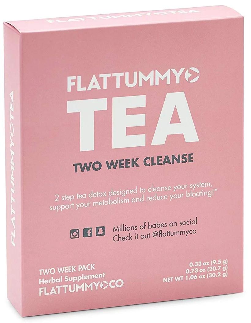 Flat Tummy Tea All-Natural Detox Tea 2 Week Cleanse 1 ...