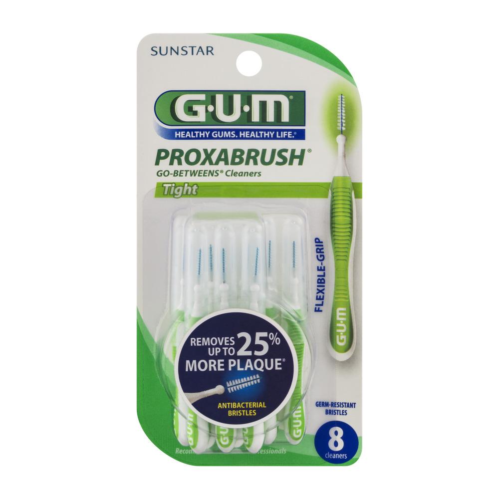 GUM Proxabrush GoBetweens Cleaners Tight 8 CT Walmartcom