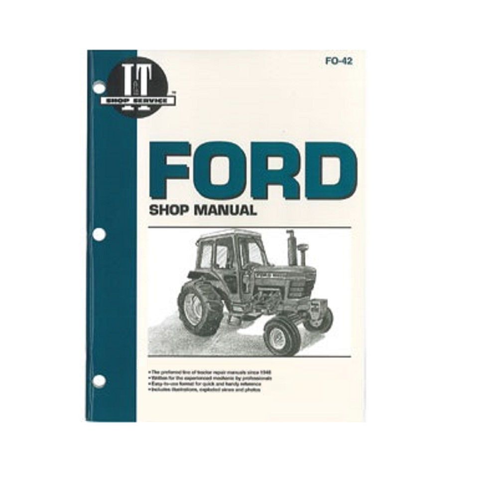 itfo42 new ford tractor shop manual 5000 5600 5610 6600 6610 6700 ford parts diagrams ford [ 1000 x 1000 Pixel ]