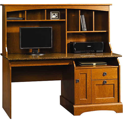 Sauder Graham Hill Computer Desk with Hutch  Walmartcom