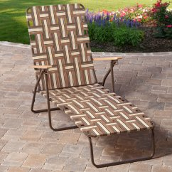 Webbed Chaise Lounge Chairs Arm For Sale Rio Deluxe Folding Web Walmart Com