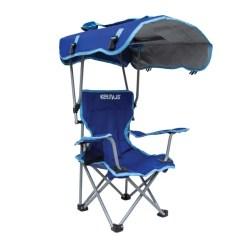Folding Canopy Chair Modern Nursery Rocking Kelsyus Kids Blue Walmart Com