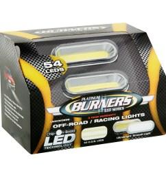 platinum burners led series off road racing lights 54 count walmart com [ 2365 x 2365 Pixel ]