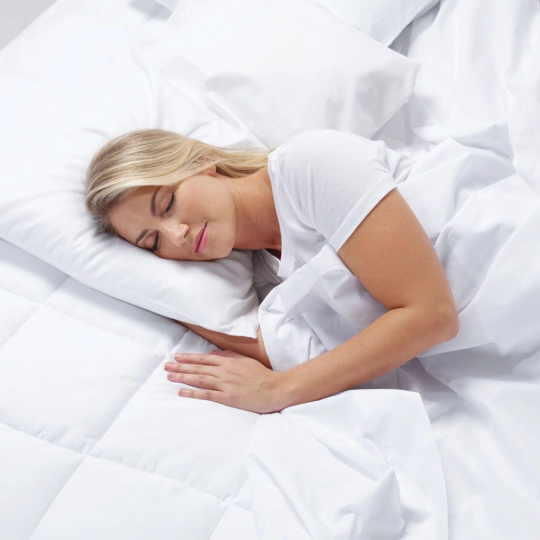 Serta 4 PillowTop and Memory Foam Mattress Topper
