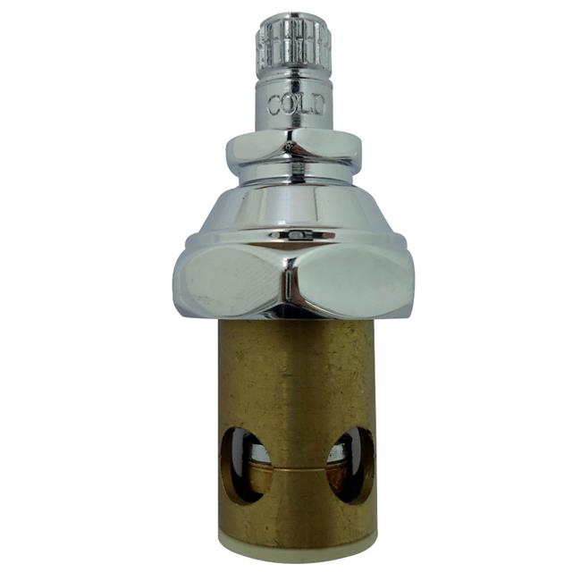 heavy duty kitchen faucet white cupboards kingston brass fpr1082c cold stem for commercial grade