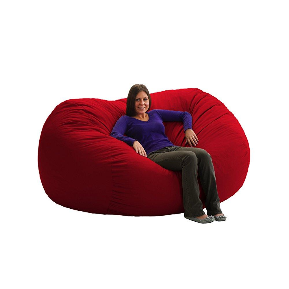 xxl fuf chair covers for hire port elizabeth comfort research 7 feet long red twill walmart com