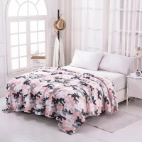 Mainstays Queen Super Soft Plush Bed Blanket in Pink ...