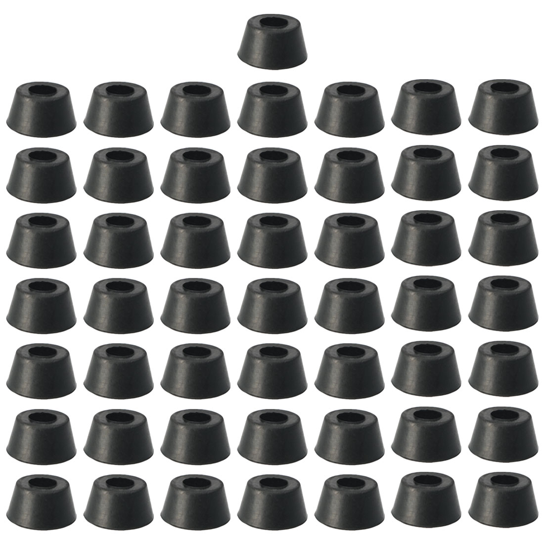 Chair Leg Tips Unique Bargains Unique Bargains 50 X Black Rubber Furniture Couch Chair Leg Tips Caps Floor Protectors 7 16