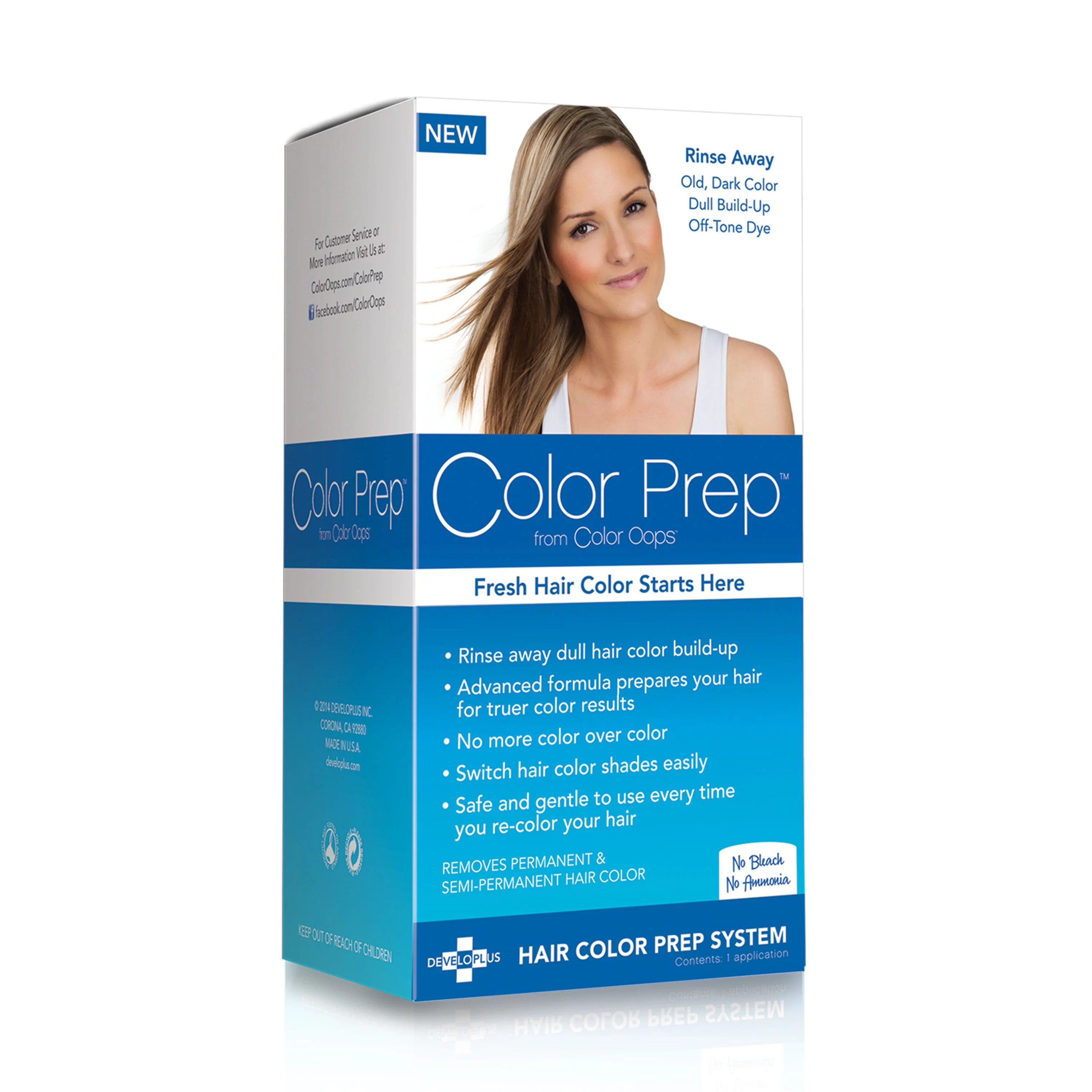 Color Prep From Color Oops Hair Color Build Up Treatment