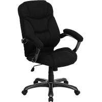 Microfiber High-Back Office Chair, Multiple Colors ...