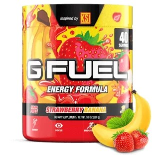 G Fuel Elite Energy and Endurance Tub Strawberry Banana ...