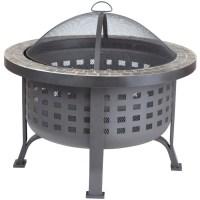 Alpina Round Slate Top Fire Pit - Walmart.com