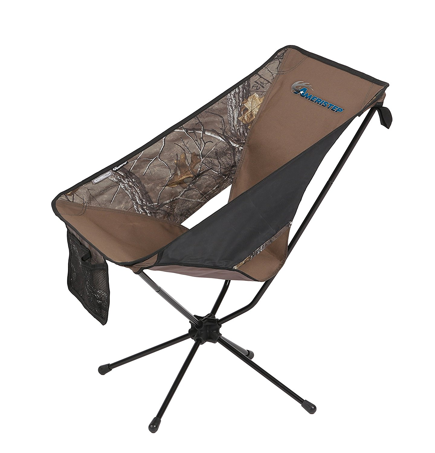 hunting seats and chairs upholstered folding chair ameristep tellus lite for walmart com