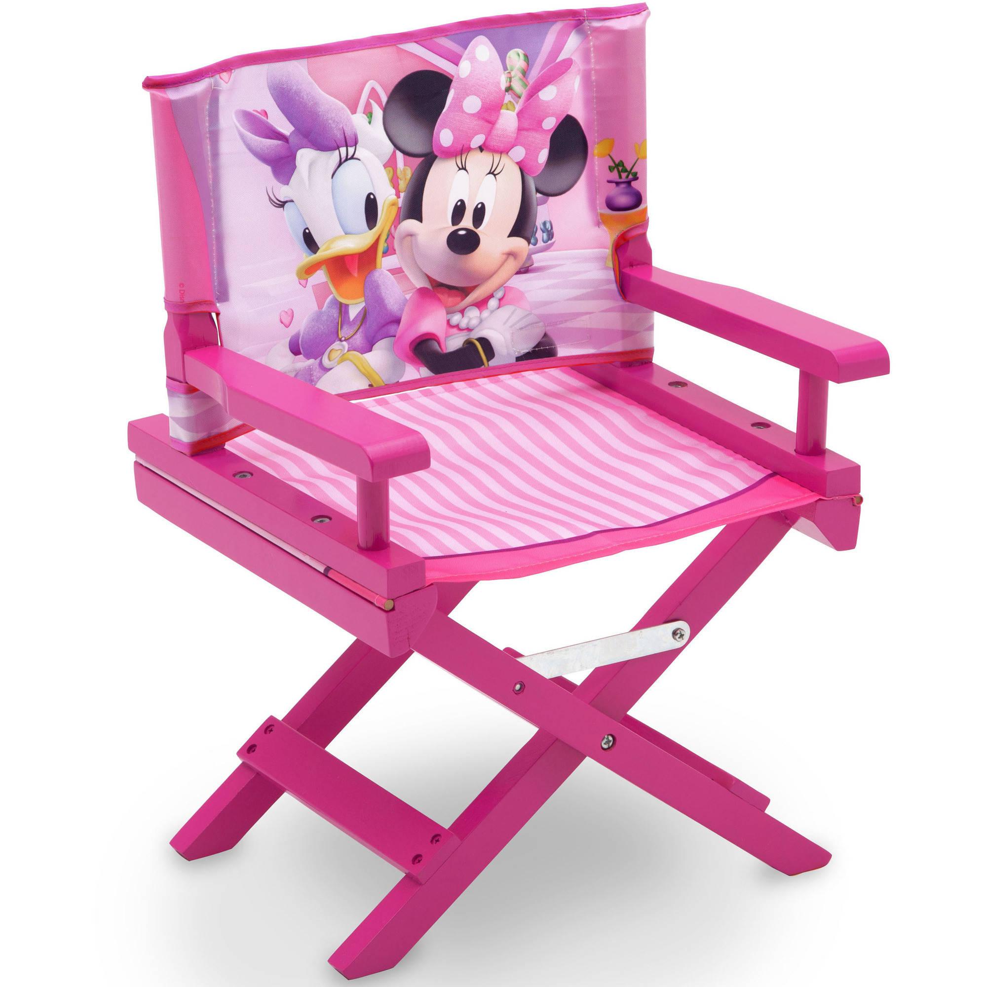minnie mouse folding chair your zone flip target disney director s walmart com departments