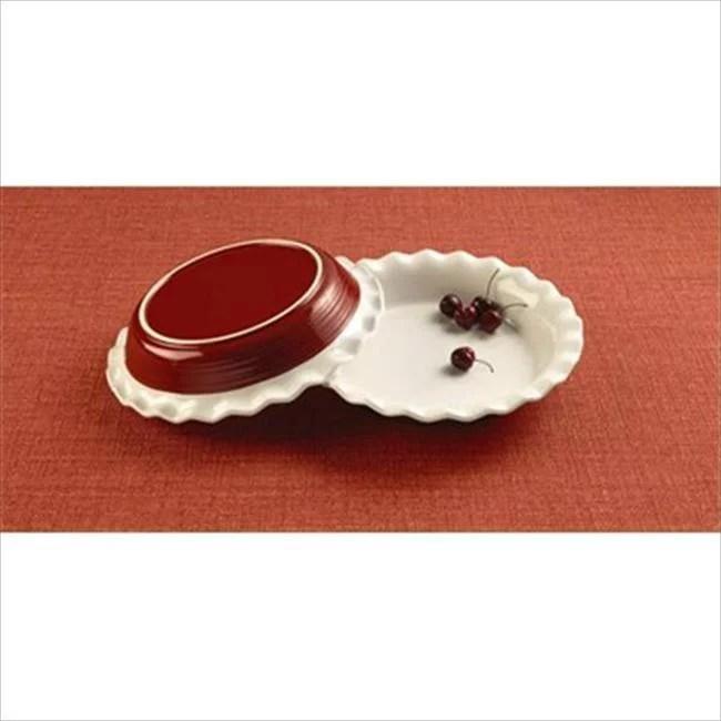 Corningware 1096898 Etch 9. 5 inch Pie Plate