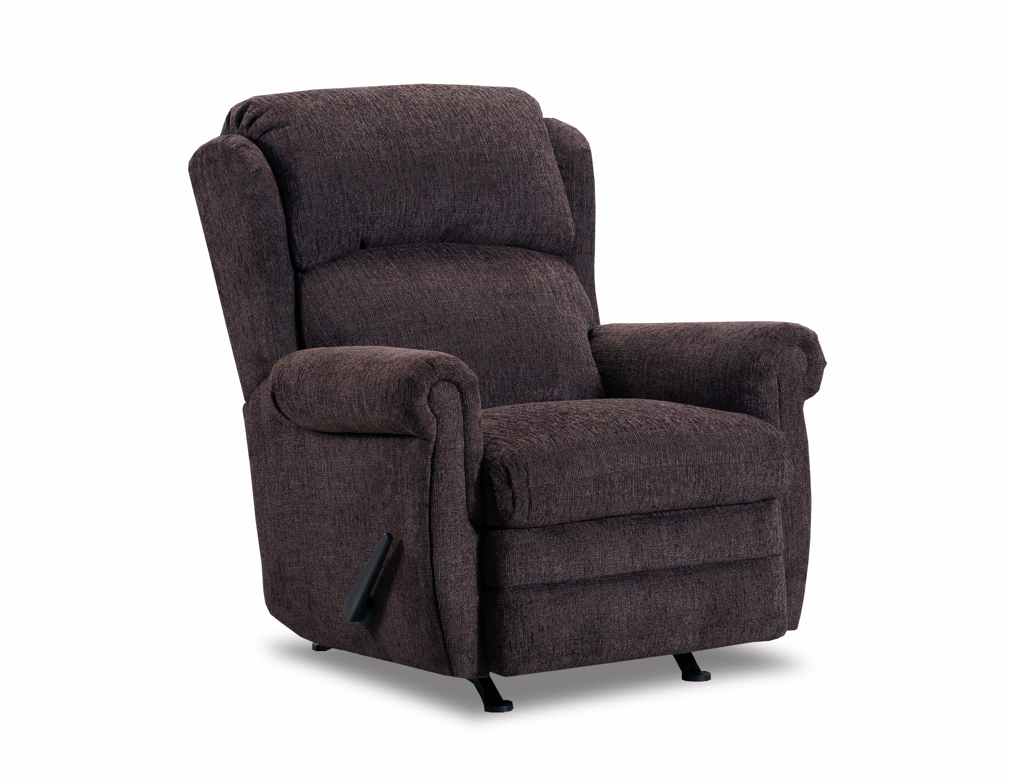 lane essentials 4226 16 kacey chocolate swivel glider recliner