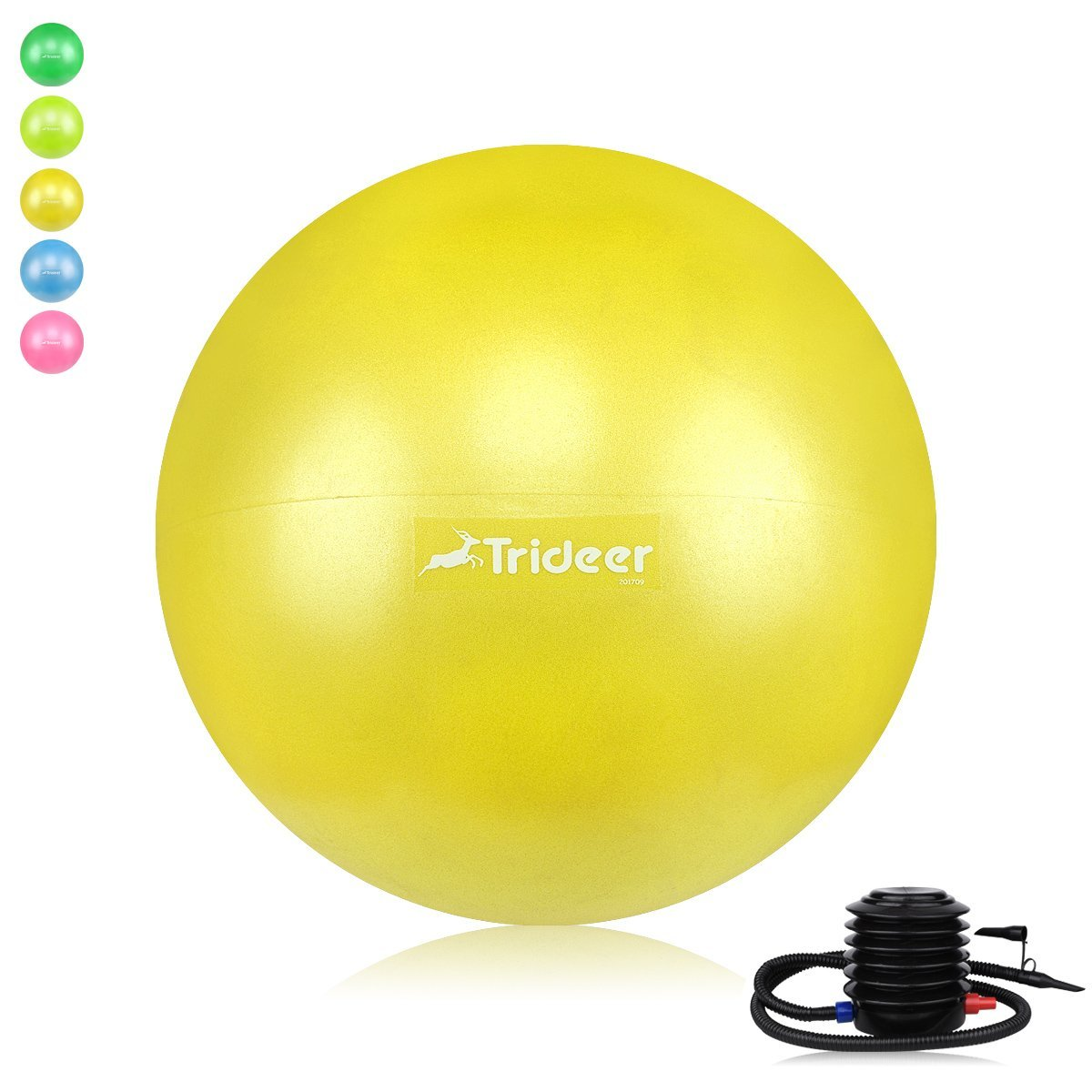 ball chair for kids boppy baby green marbles trideer exercise 45cm classroom flexible seating children s inflatable balance