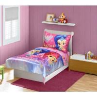 Shimmer & Shine 4-Piece Toddler Bedding Set - Walmart.com