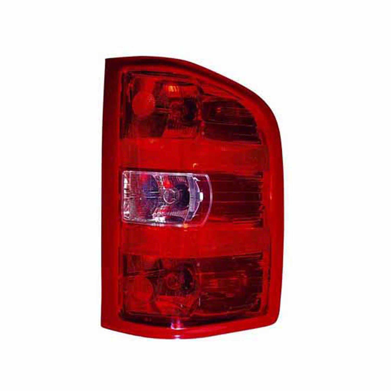 hight resolution of 2007 2013 chevrolet silverado 1500 passenger side right tail lamp assembly incl wiring harness 25958483 walmart com