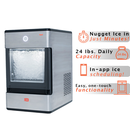 Opal Nugget Ice Maker 24lb Capacity