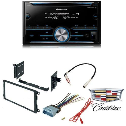 small resolution of pioneer fh s500bt double din bluetooth in dash cd am fm car stereo receiver w pandora car radio stereo cd player dash kit buick cadillac chevrolet gmc