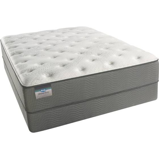 Simmons Beautysleep Winward Luxury Firm Mattress Set In Home White Glove Delivery Included