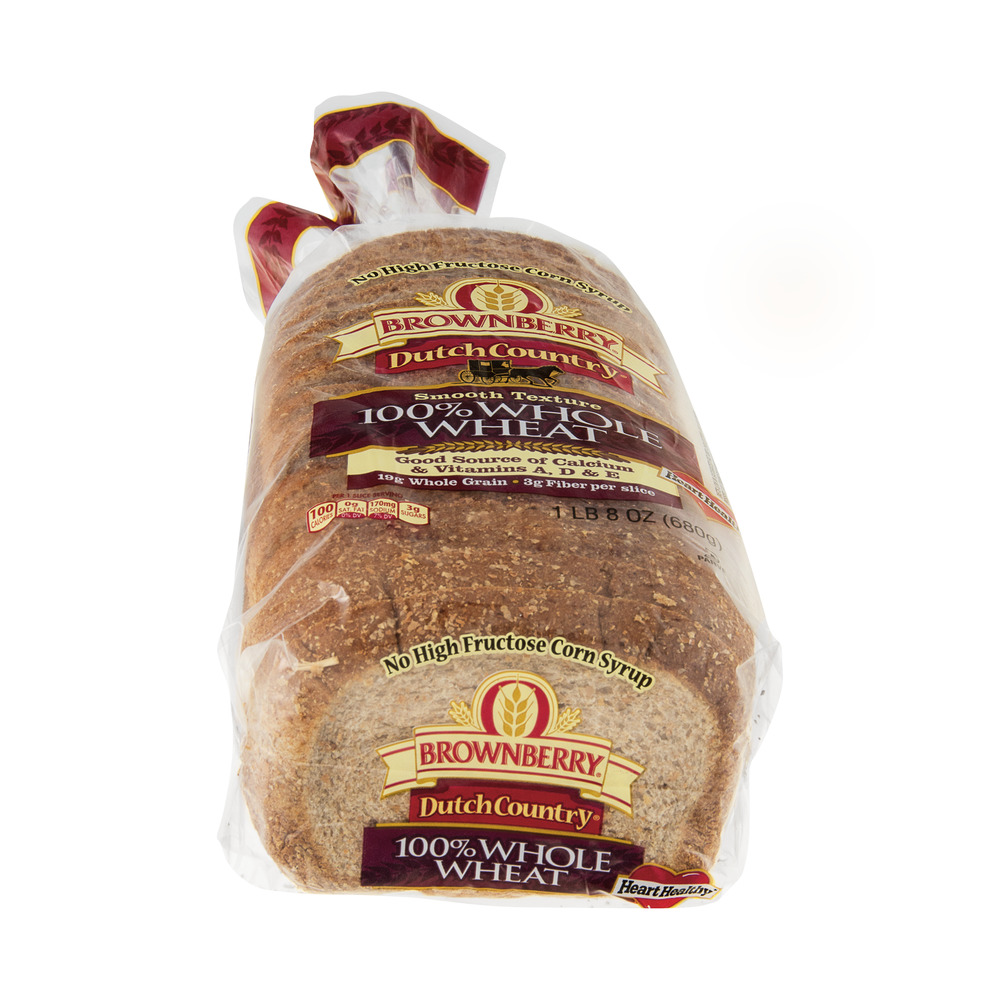 Brownberry Dutch Country Bread 100 Whole Wheat Smooth