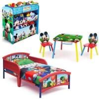 Disney Mickey Mouse Bedroom Set with BONUS Toy Organizer ...