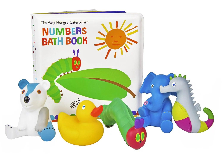 medium resolution of kids preferred the very hungry caterpillar numbers bath book walmart canada