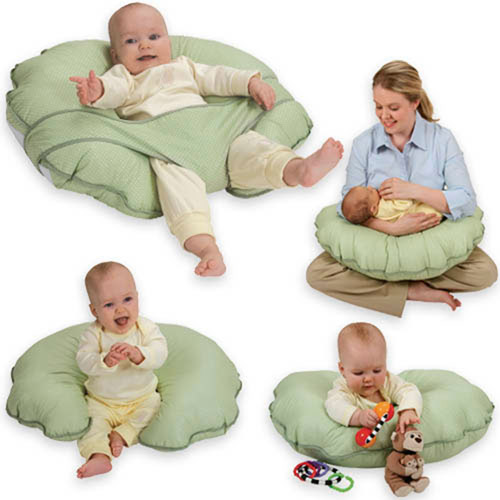 Leachco CuddleU Basic Nursing Pillow and More Sage