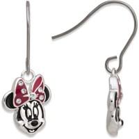 Disney - Disney Brass Minnie Mouse Earrings - Walmart.com