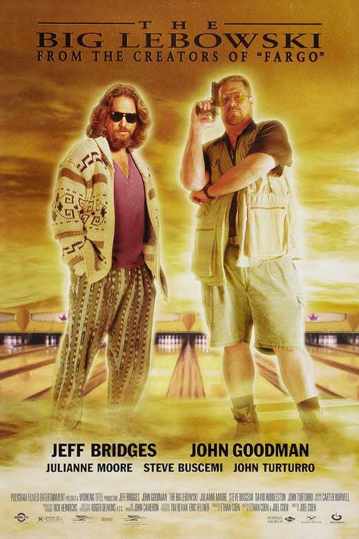 the big lebowski movie poster style f 27 x 40 1998