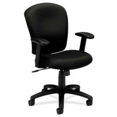 Hon Desk Chairs Portable Outdoor Basyx By Chair Series Vl220 Fabric Black Bsxvl220va10 Walmart Com