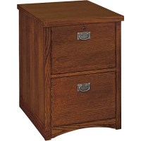 Mission 2-Drawer Vertical File Cabinet, Oak - Walmart.com