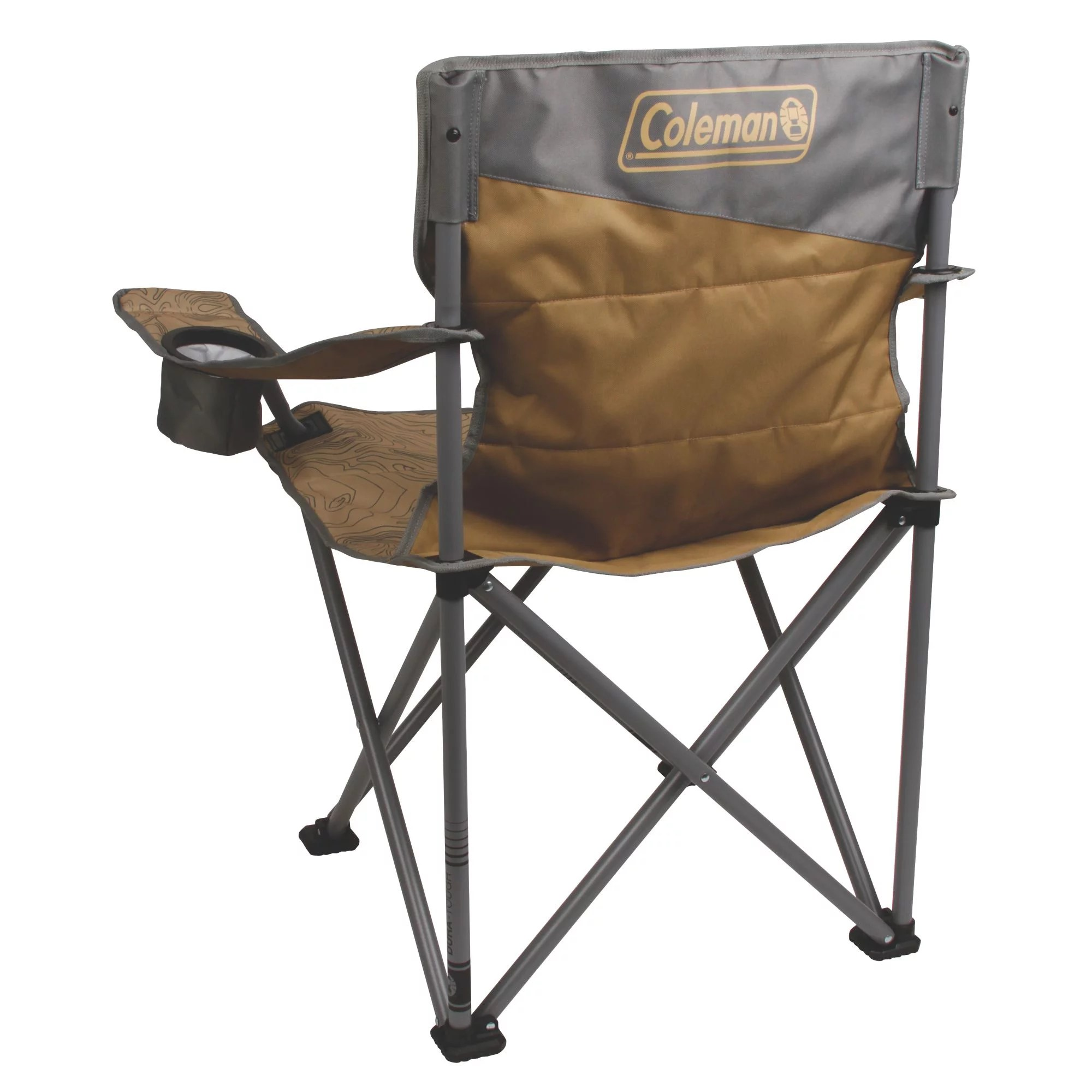 coleman camping chair gray