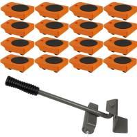 Furniture Lifter with 16pc Mover Rollers, Move Heavy ...
