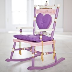 Childrens Rocking Chair Cushions Cheap Covers Ebay Wildkin Royal Princess Rocker Cushion Details About Purple Girls New