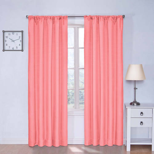 walmart living room furniture broyhill sets eclipse kids kendall darkening window curtain panel ...
