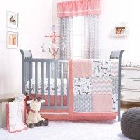 The Peanut Shell 3 Piece Baby Crib Bedding Set - Uptown ...