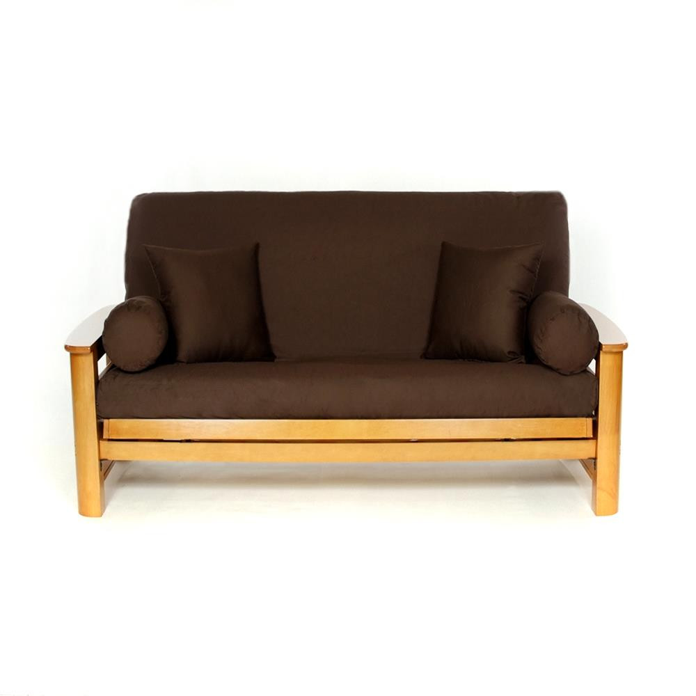 LS COVERS BROWN FULL FUTON COVER Full Size Fits 68in