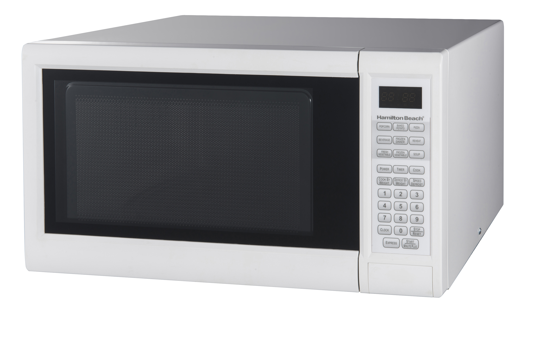 hamilton beach 1 3 cu ft digital white microwave oven