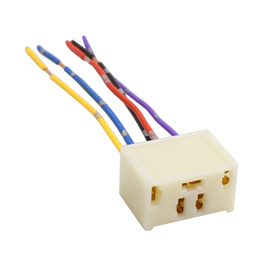 hight resolution of 4pcs dc 12v 5 pin car power window switch socket wiring harness plug 3 wire harness repair window