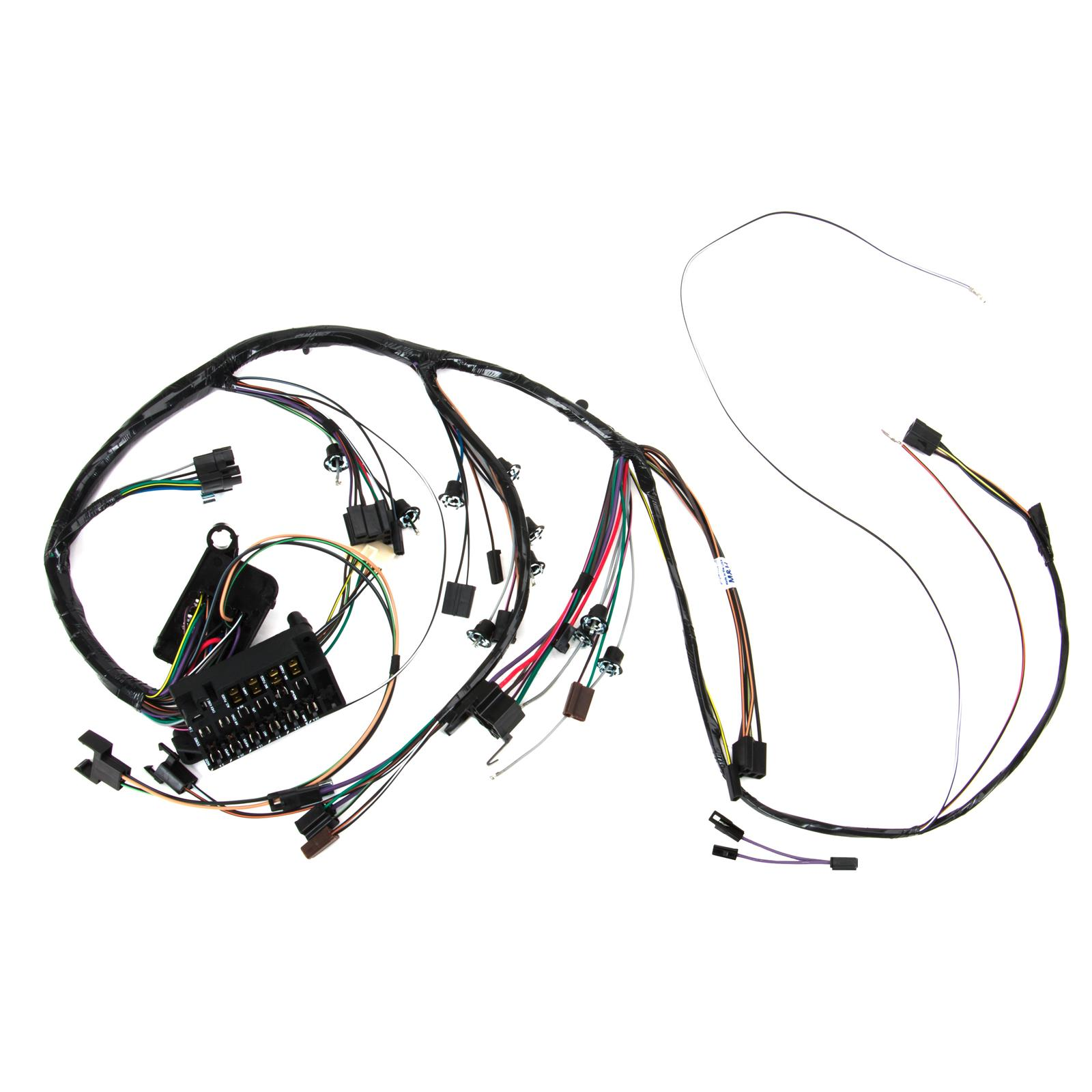 Speedway Dash wiring Harness w/Gauges, 1967 Chevelle