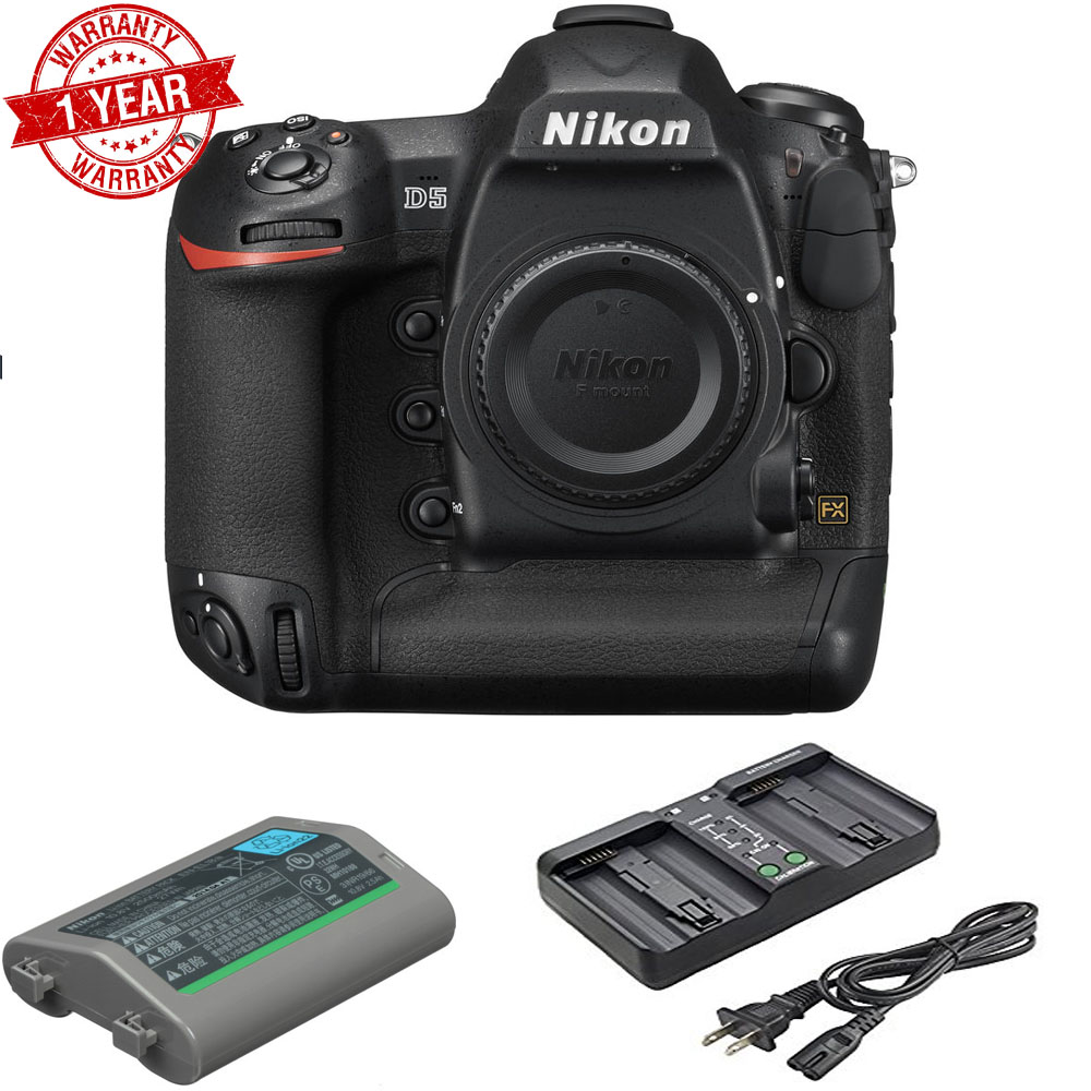 NIKON D5 DSLR Camera (Body Only, Dual XQD Slots) USA