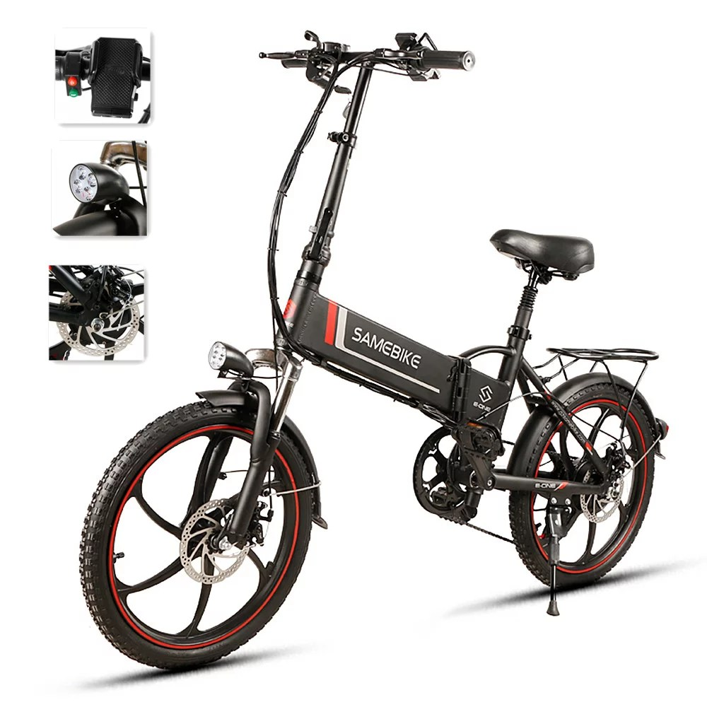 20 Inch Folding Electric Bike Power Assist Electric