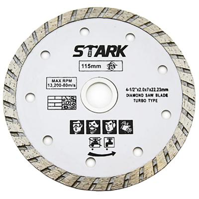 xtremepowerus 4 1 2 diamond saw blade turbo cutting with 7 8 inch arbor tile saw tools