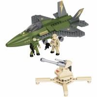 Mega Bloks Adventure Force Military Jet Fighter Play Set ...